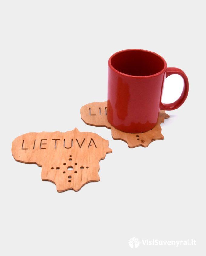 padėkliukai puodeliams tautiniai suvenyrai Lietuva
