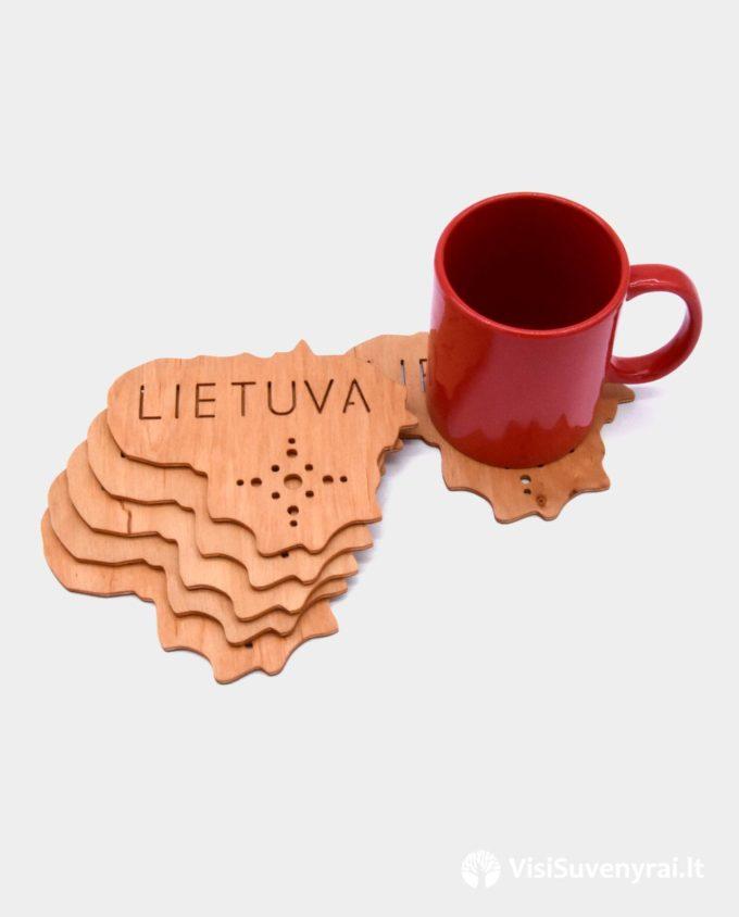 padėkliukai puodeliui suvenyrai Lietuva