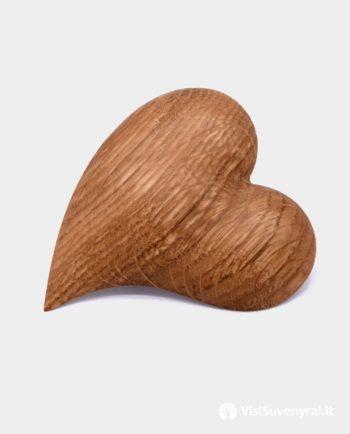 Medine segė Širdelė - mediniai papuošalai