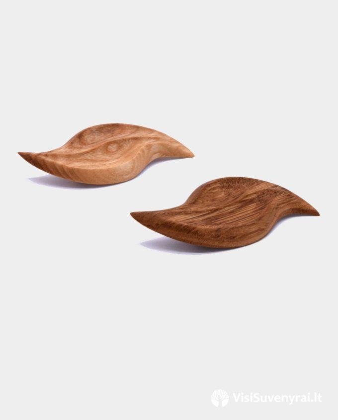 medinės sagės mediniai papuošalai dovanos