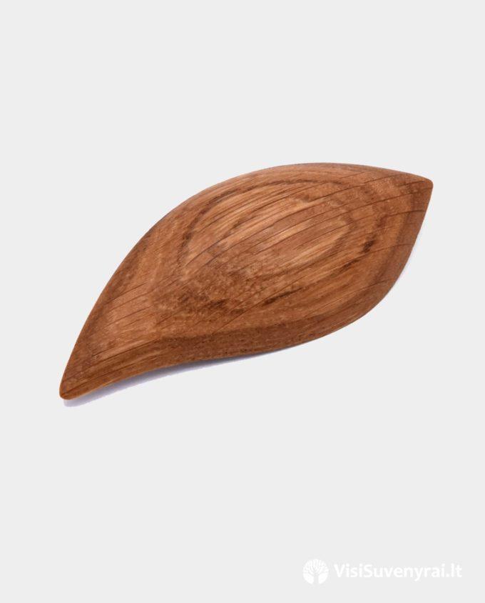 sagė medinė dovana papuošalas rankų darbas