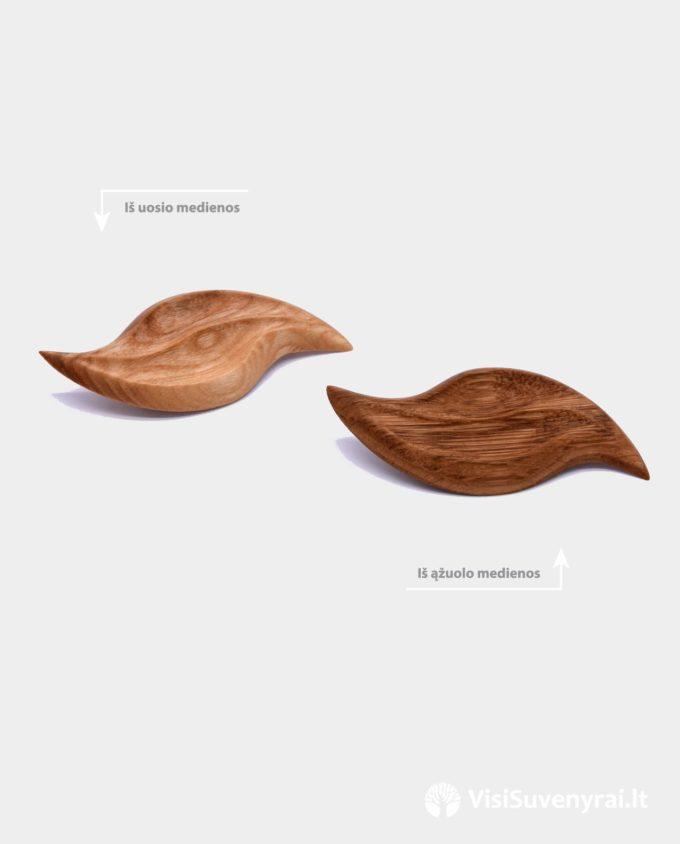 sagės medinės išdrožtos iš ąžuolo ir uosio medienos