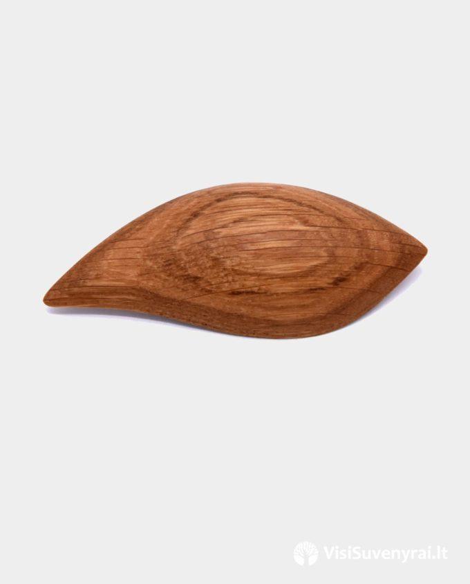 segė iš medžio lapelis medinė juvelyrika papuošalai