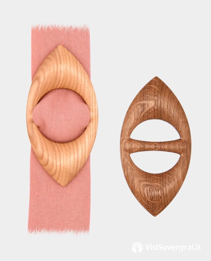 medinė sagtelė skarelei ar šalikėliui sagė skarelės