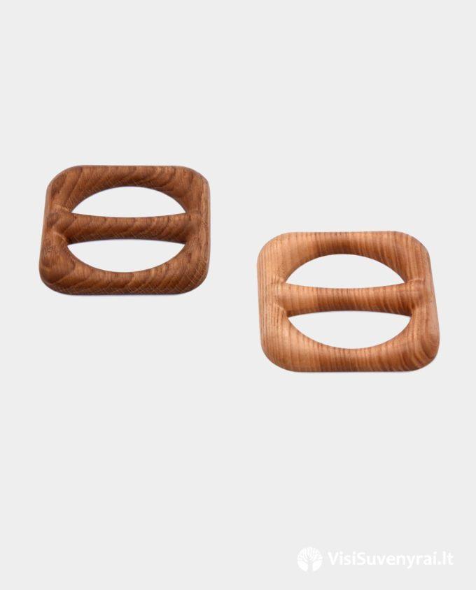 medinės sagtelės šalikams segės kaklaskarėms šalikėlio papuošalai