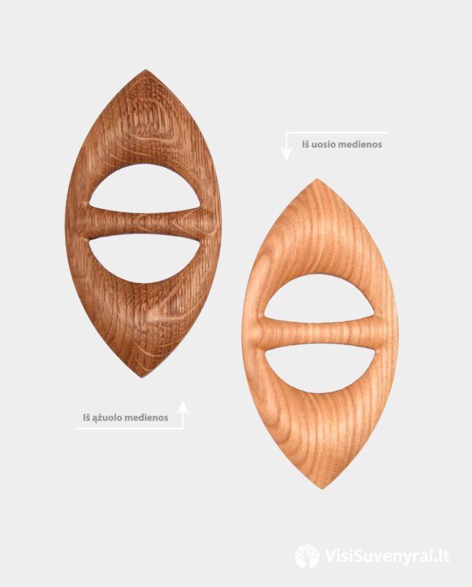 medinės sagtelės skarelėms segės šalikėliams sagės šalikams
