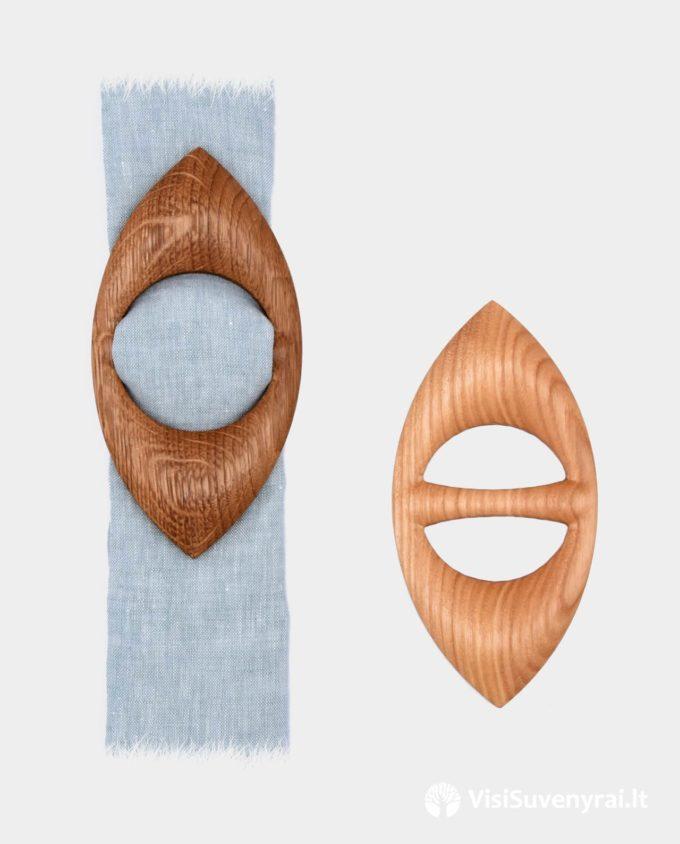 mediniai žiedai šalikams sagtelės šalikėliams sagės skarelėms