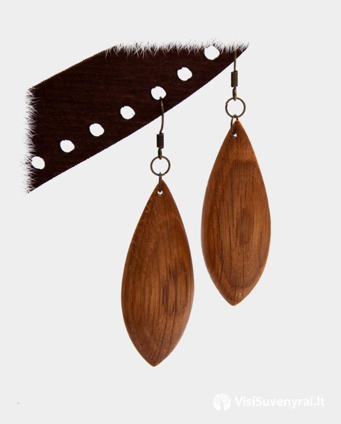 mediniai auskarai internetu papuošalai iš medienos dovanų parduotuvė internete