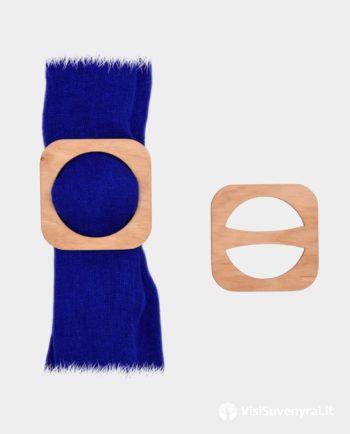 mediniai papuošlai šaliko žiedai sagtelės papuošalas prie lino žiedas iš medžio rankų darbas