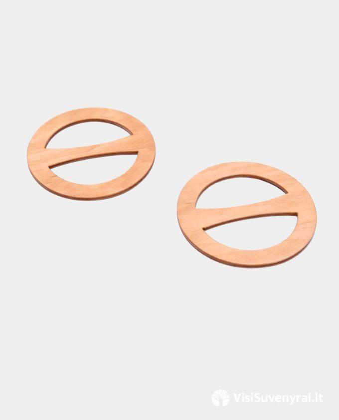 rankų darbo mediniai papuošalai žiedai šalikams skaroms skarelėms sagtelės