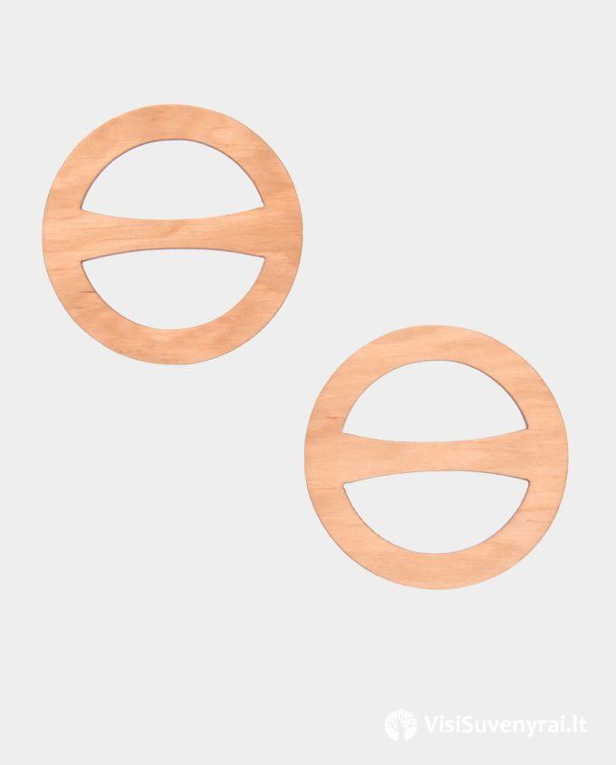 šaliko žiedai iš medžio papuošalai rankų darbas šalikėlio žiedas sagtelė