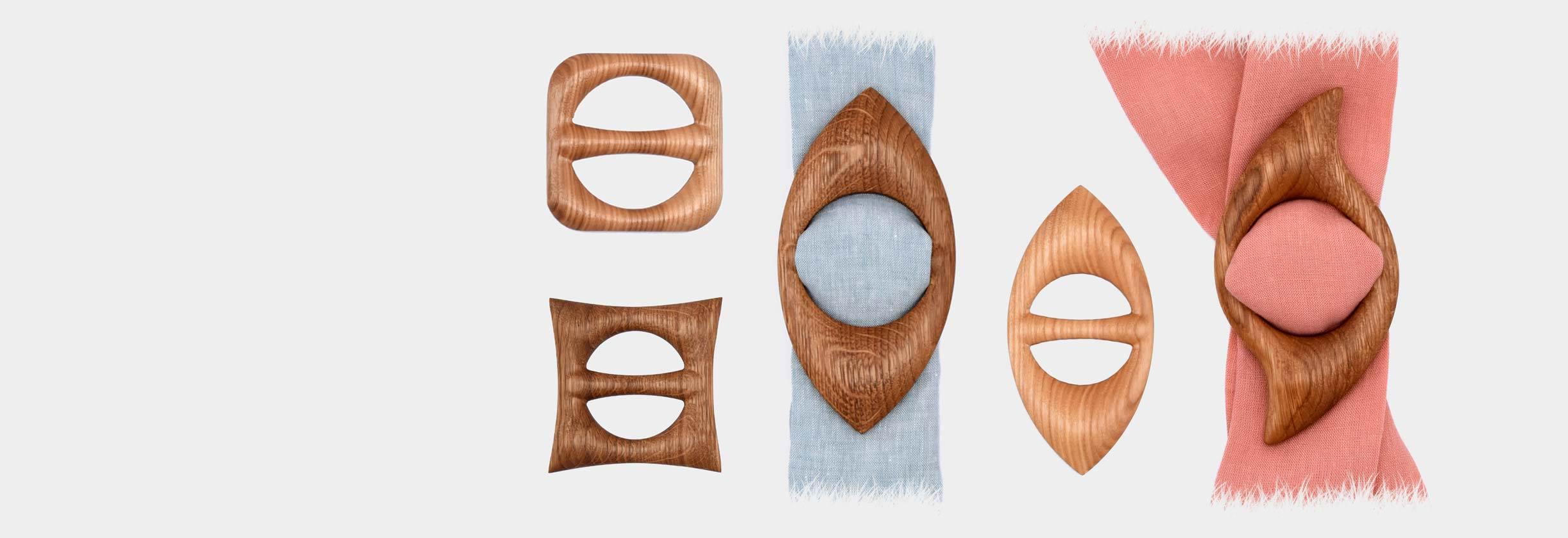 Medinės sagtelės skarelėms ir šalikams – visi suvenyrai