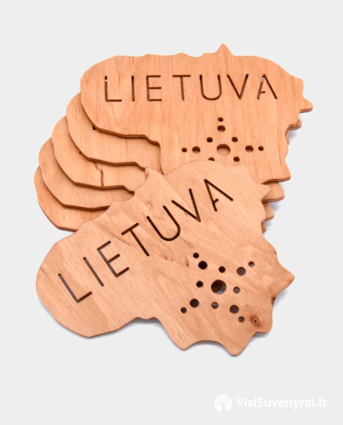 padekliukas puodeliui suvenyras Lietuva